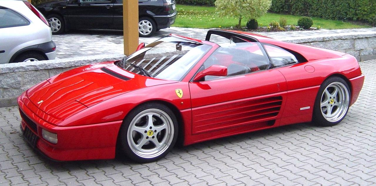 ferrari 348. Black Bedroom Furniture Sets. Home Design Ideas