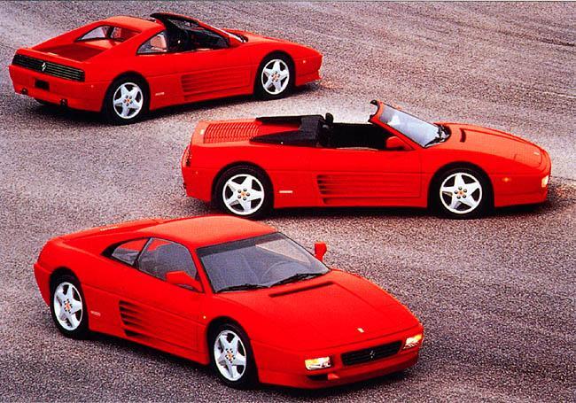 Gamme Ferrari 348