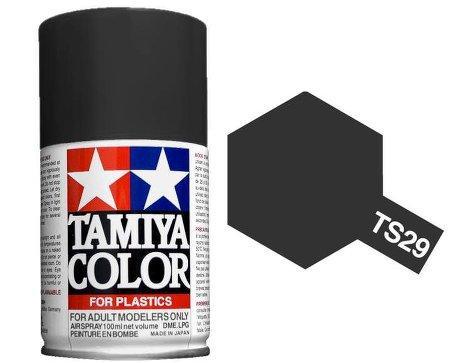 Bombe peinture maquette noir tamiya ts 29