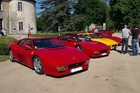 Sorties avec Ferrari348